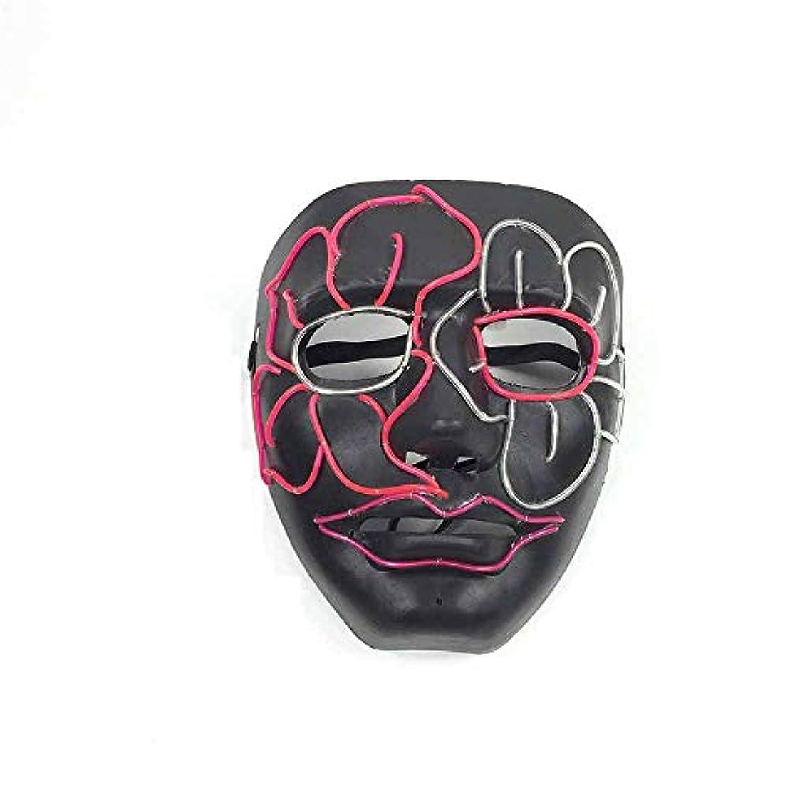 極貧勃起革命ハロウィングローイングクリーピーマスク、コスプレマスク