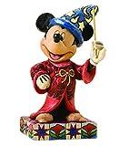 ディズニートラディション ジムショア 魔法使い ミッキーマウス 立ったポーズ ディズニーフィギュア 4.25インチ