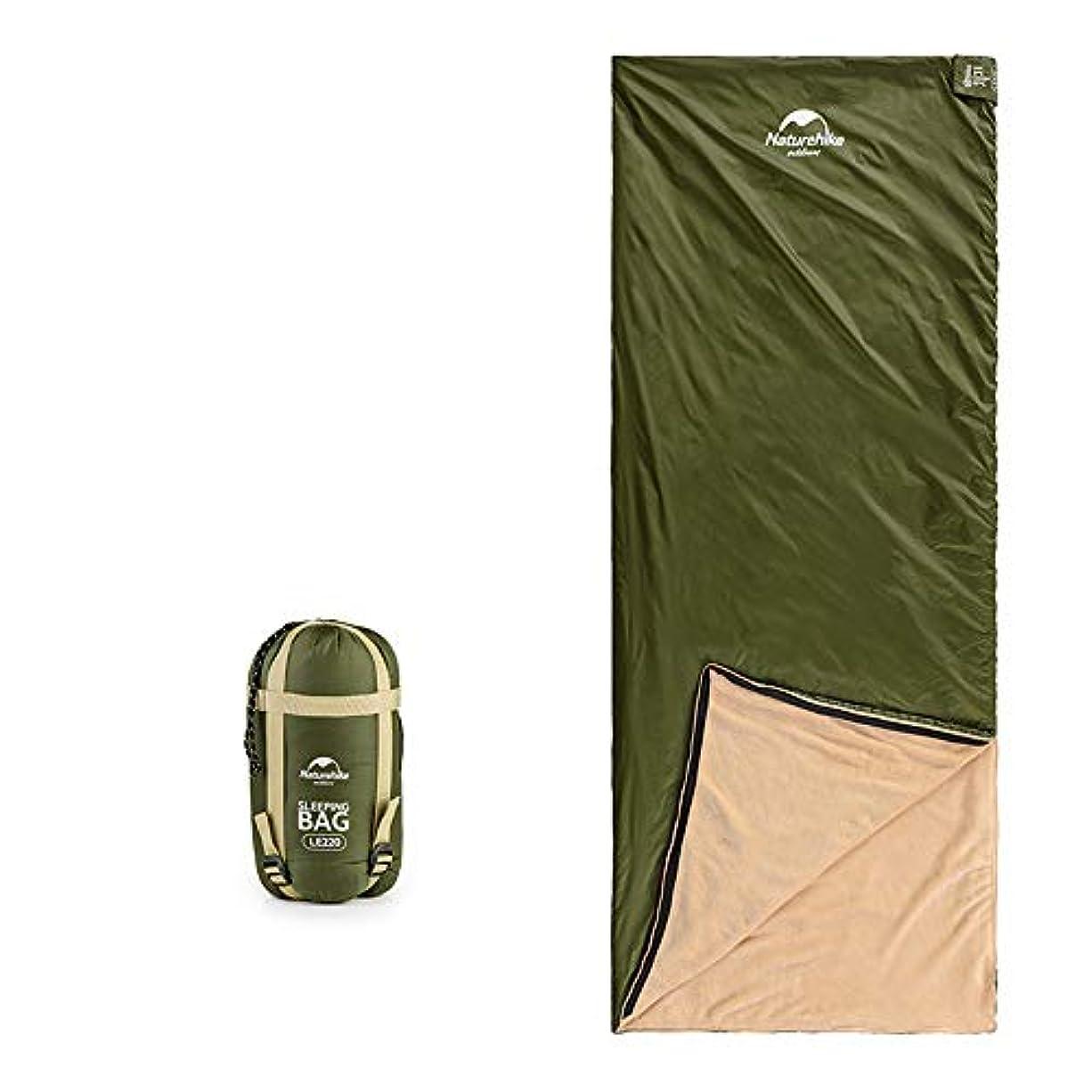 予想する特権協定寝袋内蔵のサンゴフリース、軽量で丈夫、通気性と吸湿性、アウトドアキャンプに適し、出張、旅行
