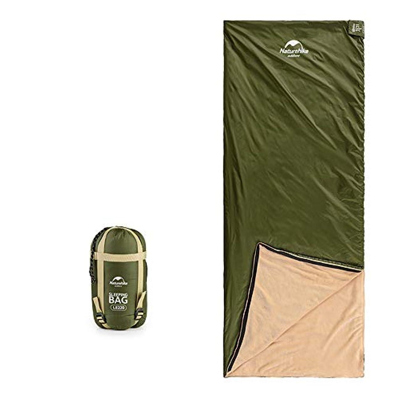 回転カメラ穏やかな寝袋内蔵のサンゴフリース、軽量で丈夫、通気性と吸湿性、アウトドアキャンプに適し、出張、旅行