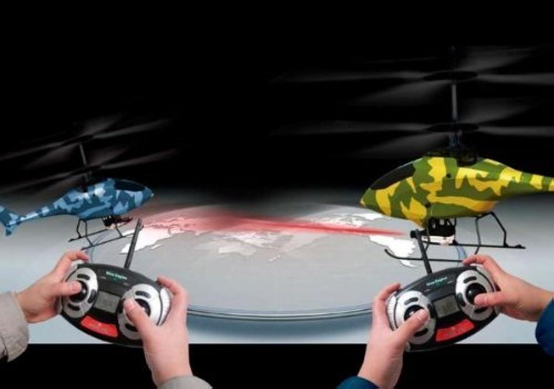 ハイテック ナインイーグルス 2.4GHz COMBAT TWISTER 2機セット RTFキット NE30221024102024 RCヘリ