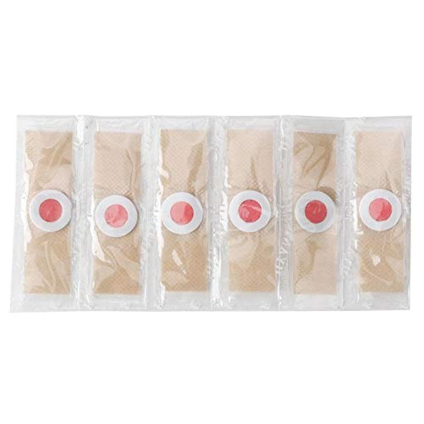 ラメ部概念トウモロコシ除去剤、足カルス除去石膏クッション用ソフト肌の皮保護つま先ケア痛み6個/箱