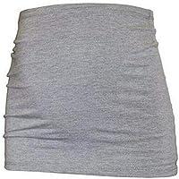 森の日和妊婦帯 腹帯 産前 妊娠帯 腰痛 マタニティベルト 冷房対策 通気性良 簡単装着 (L, グレー)
