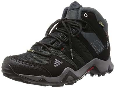 [アディダス] adidas トレッキングシューズ AX2 MID Gore-Tex EO869 Q34271 ダークシェール/ブラック/ライトスカーレット 25.5