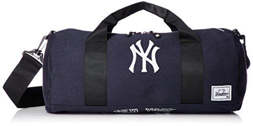 [メジャーリーグベースボール] ロールバッグ ヤンキース おしゃれ 収納 旅行 YK-1403S-02 ネイビー