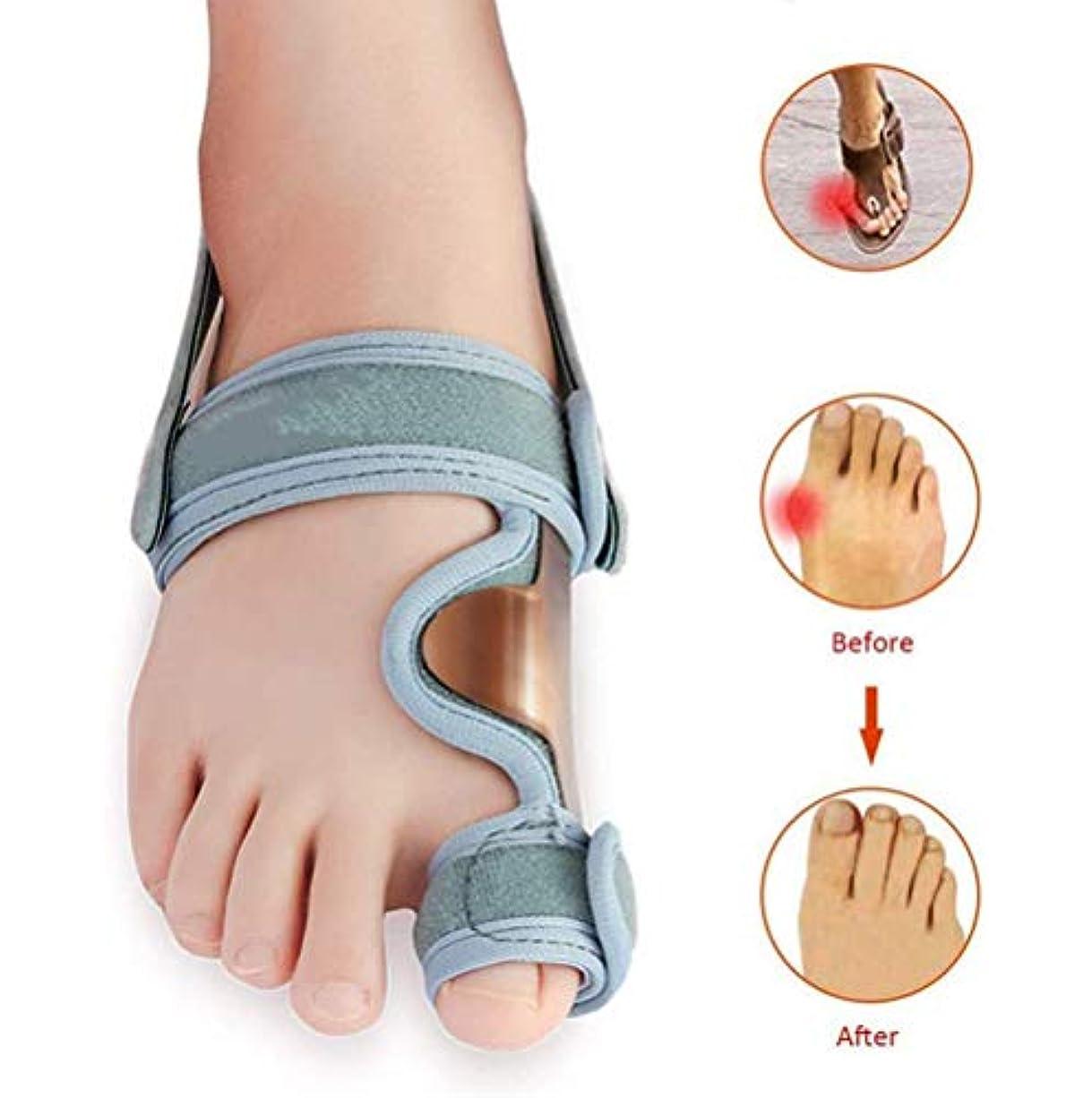 カブリークドナウ川整形外科腱膜瘤コレクター、外反母趾サポートブレーススプリントパッド親指セパレータストレート、女性と男性のための関節炎の痛みパッケージ、 1 個 (そうだね)