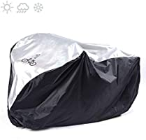 Bike Cover for 1 Bike, Viaky 210T Nylon Waterproof Bicycle Cover Anti Dust Rain UV Protection for Mountain Bike/Road...