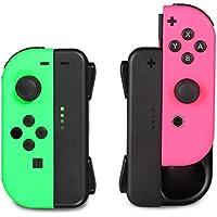 ジョイコン Joy-Con 充電グリップ Nintendo Switch プレイしながら充電可能 KINGTOP ニンテンドー スイッチ 充電ホルダー チャージャー 充電指示LED付 日本語説明書付き