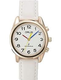 GRUS(グルス) 音声時計 ボイス電波 トーキングウォッチ GRS003-05