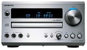 ONKYO CD/FMチューナーアンプ 60W+60W シルバー CR-D1(S)