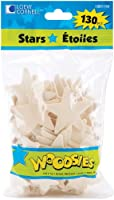 Woodsies Shapes 130/Pkg-Stars (並行輸入品)