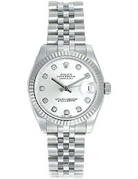 (ロレックス) ROLEX 腕時計 デイトジャスト 178274G シルバー 10Pダイヤ ボーイズ [並行輸入品]