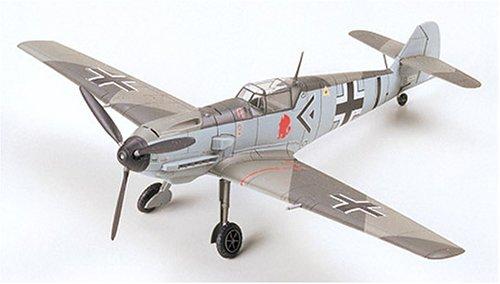 タミヤ 1/72 ウォーバードコレクション No.50 ドイツ空軍 メッサーシュミット Bf109E-3 プラモデル 60750