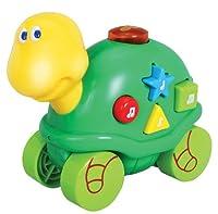 Navystar Musical Roll Along Turtle Playmates, White/Green/Yellow by Navystar