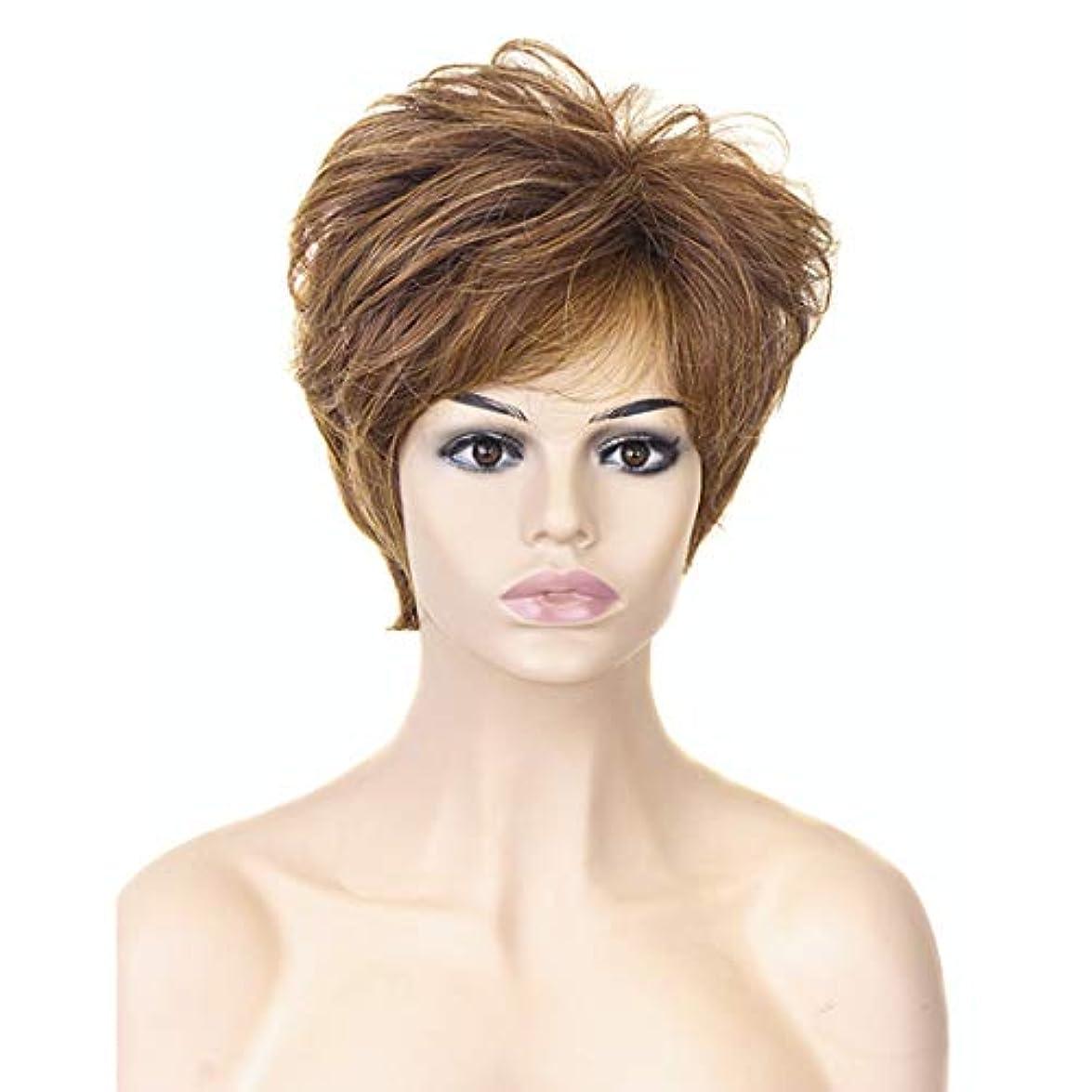 取るに足らない氏航海のYOUQIU 女性の耐熱ウィッグナチュラルヘアウィッグのためのブロンド10