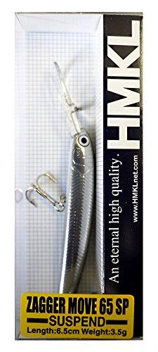HMKL(ハンクル) ミノー ザッガー MOVE 65 SP 65mm 3.5g ハーフメタリックハス ルアー