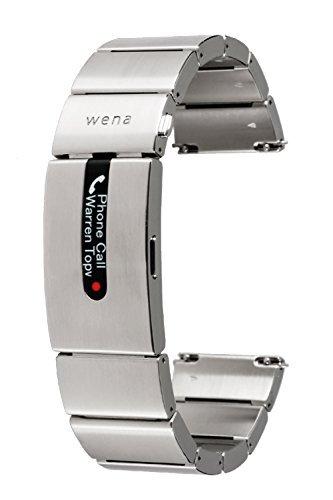 [wena project] wena wrist pro Silver WB-11A/S