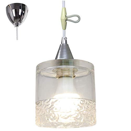 KUSHIMAX ペンダントライト 適応畳数:6畳 (雲紋透明なガラス)