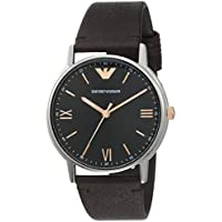 Emporio Armani Men's AR11153 Analog Quartz Brown Watch