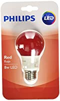 Philips 60ワット相当レッドa19ミディアムベースLED 8ワット相当電球
