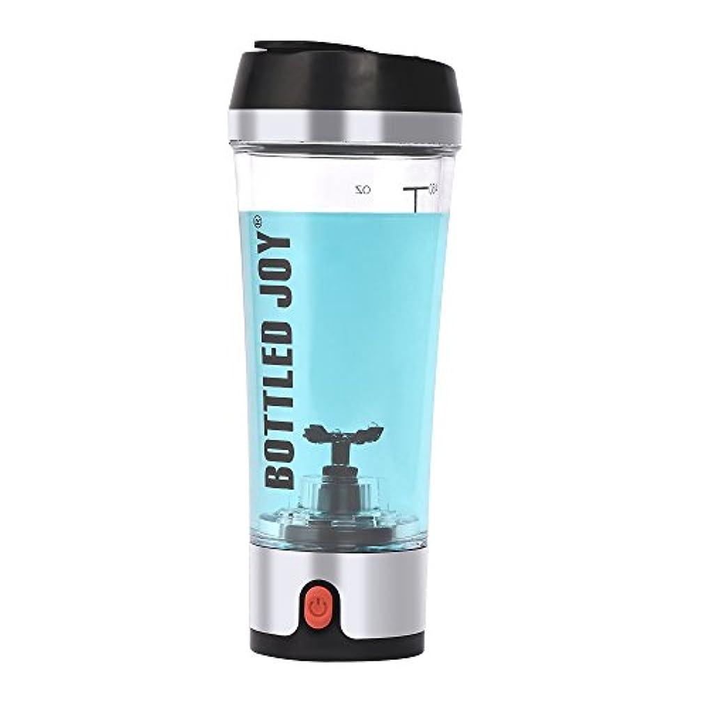 摂動化学抜け目がないBottled Joy Electric Shaker Bottle、USB Rechargeable Protein Shaker、high-torque Stirring Blenderミキサーのスポーツマンと女性16oz...
