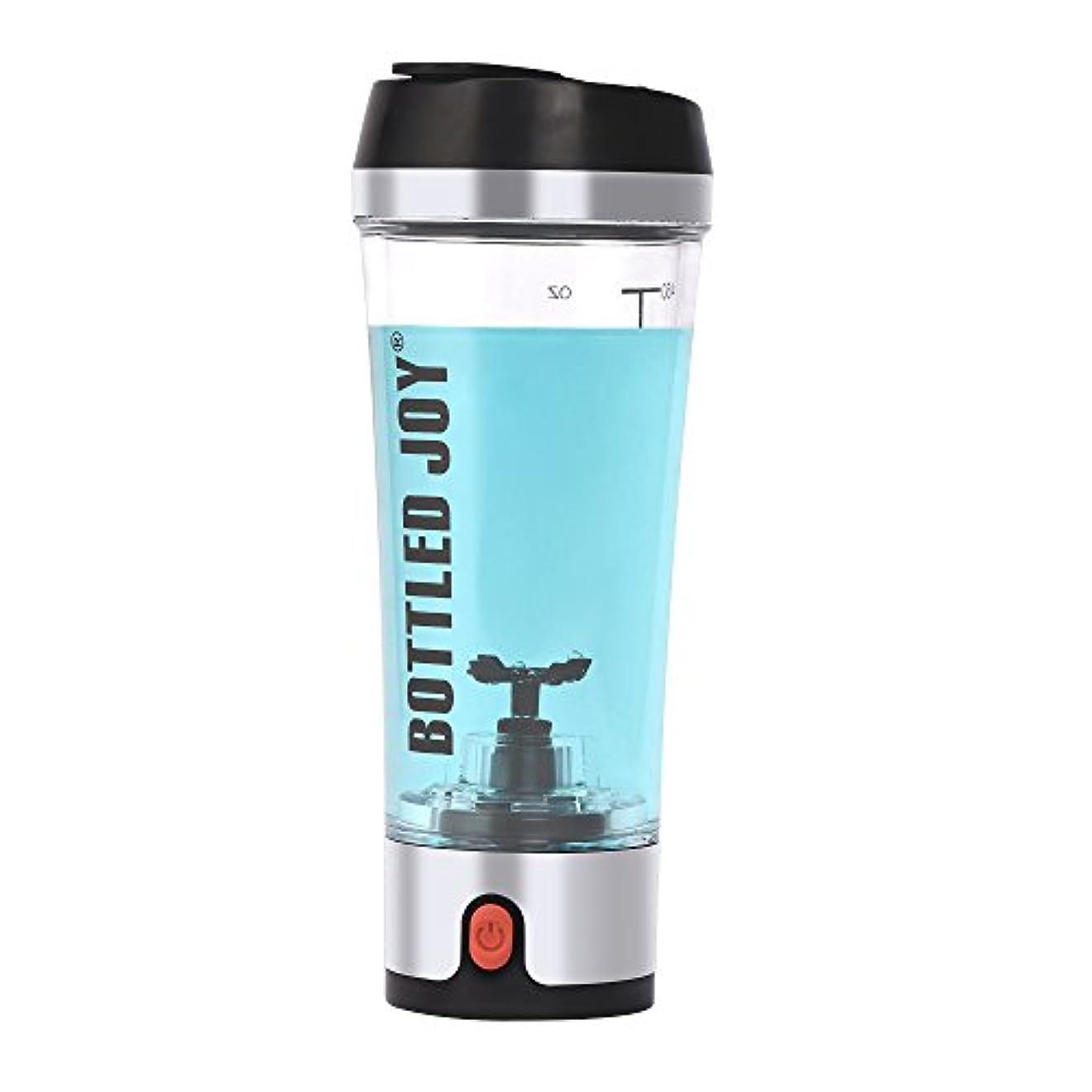年金受給者ジョージスティーブンソン塗抹Bottled Joy Electric Shaker Bottle、USB Rechargeable Protein Shaker、high-torque Stirring Blenderミキサーのスポーツマンと女性16oz...