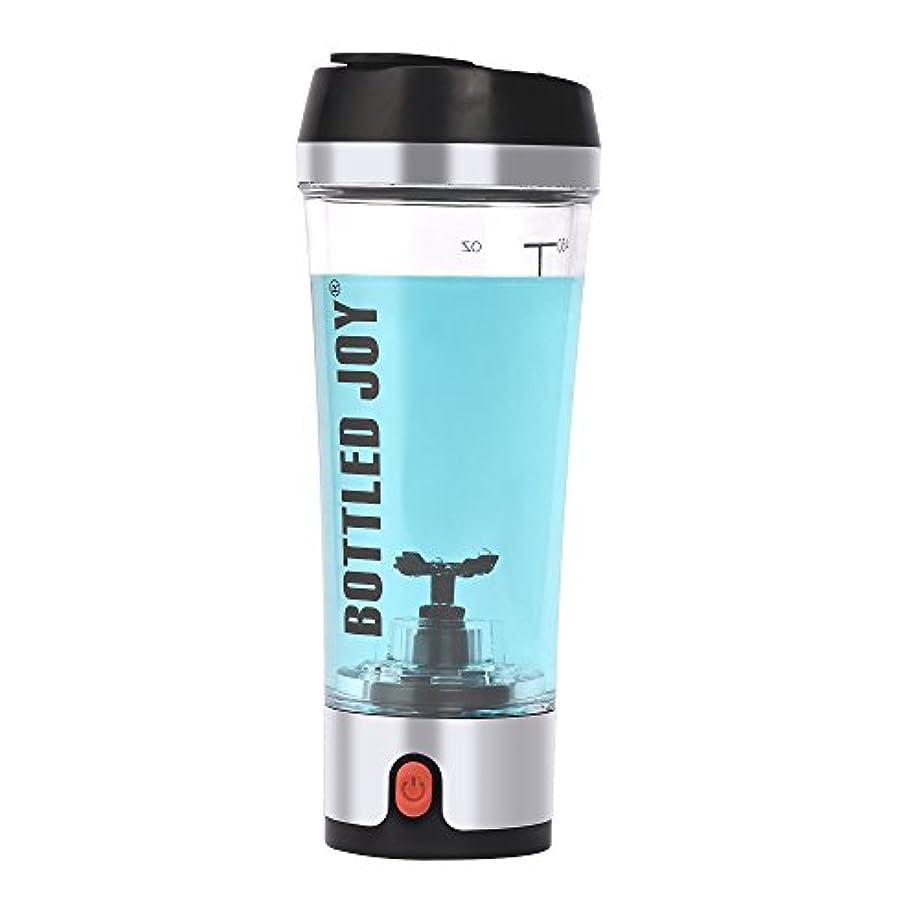 取り消すコンチネンタル投獄Bottled Joy Electric Shaker Bottle、USB Rechargeable Protein Shaker、high-torque Stirring Blenderミキサーのスポーツマンと女性16oz...