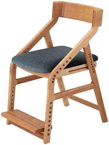RoomClip商品情報 - 市場 イートコ 子どもチェアー 座面昇降型 木製 ナチュラル JUC-2170NA