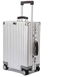 ビルガセ(Vilgazz) スーツケース アルミ・マグネシウム合金ボディ 軽量 キャリーケース 機内持込 キャリーバッグ 頑丈 TSAロック付き 静音 大容量 ビジネス 旅行出張 1年保証
