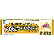 やわらかタフグリップ 総入れ歯安定剤 歯ぐきになじむピンク色 65g