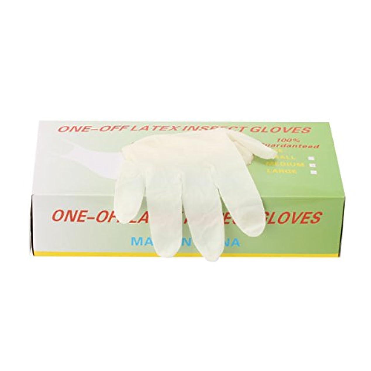 間欠材料数学者パウダーフリー使い捨てゴム手袋 100枚入 全3種 Lサイズ [ 手袋 グローブ ゴム手袋 使い捨て手袋 使い捨てグローブ ]