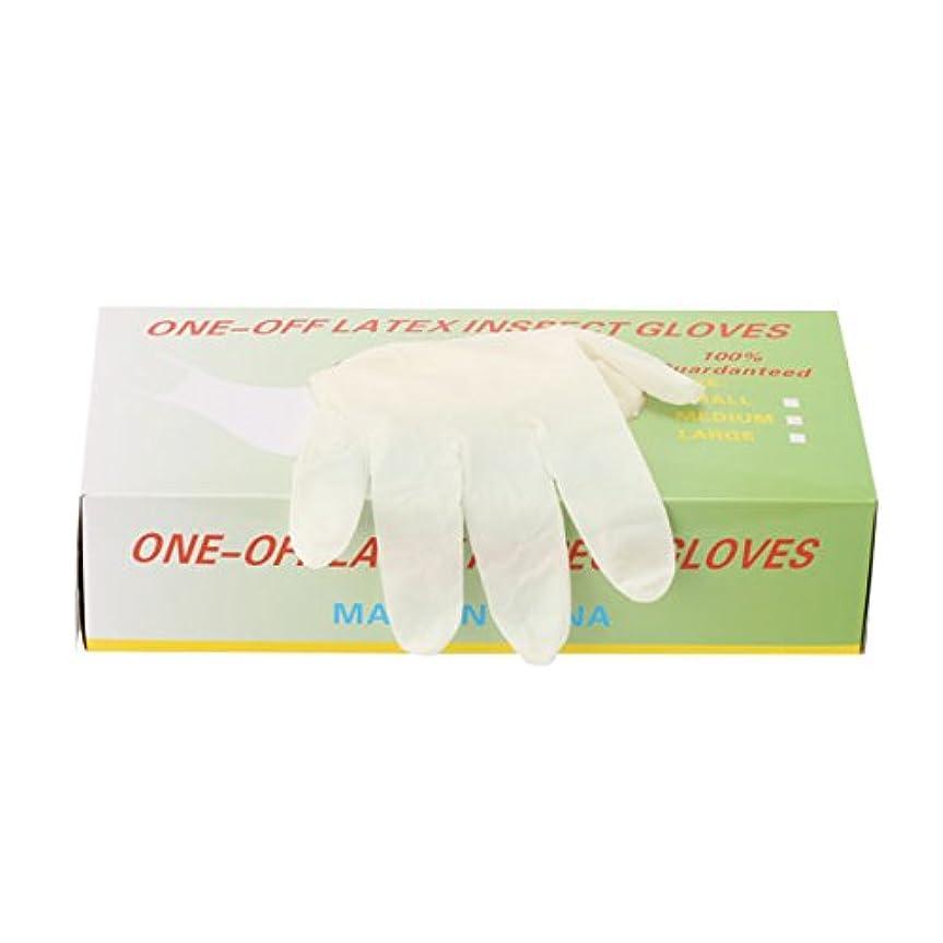 より多いスチュワーデス進捗パウダーフリー使い捨てゴム手袋 100枚入 全3種 Mサイズ [ 手袋 グローブ ゴム手袋 使い捨て手袋 使い捨てグローブ ]