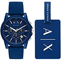 Armani Exchange Men's AX7107 Chronograph Quartz Blue Watch