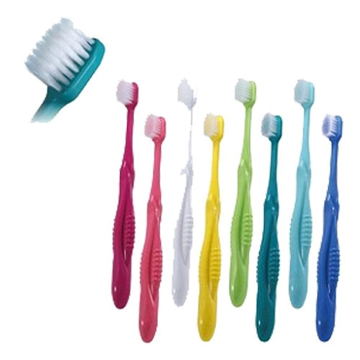 フラップ排他的遮るCiメディカル 歯ブラシ Ci802#M(ラウンド毛タイプ)×1本