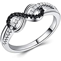 Ranipobo Fashion Zircon Ring Female Wedding Engagement Rings