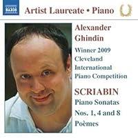 Piano Sonatas Nos 1 4 & 8 Poemes