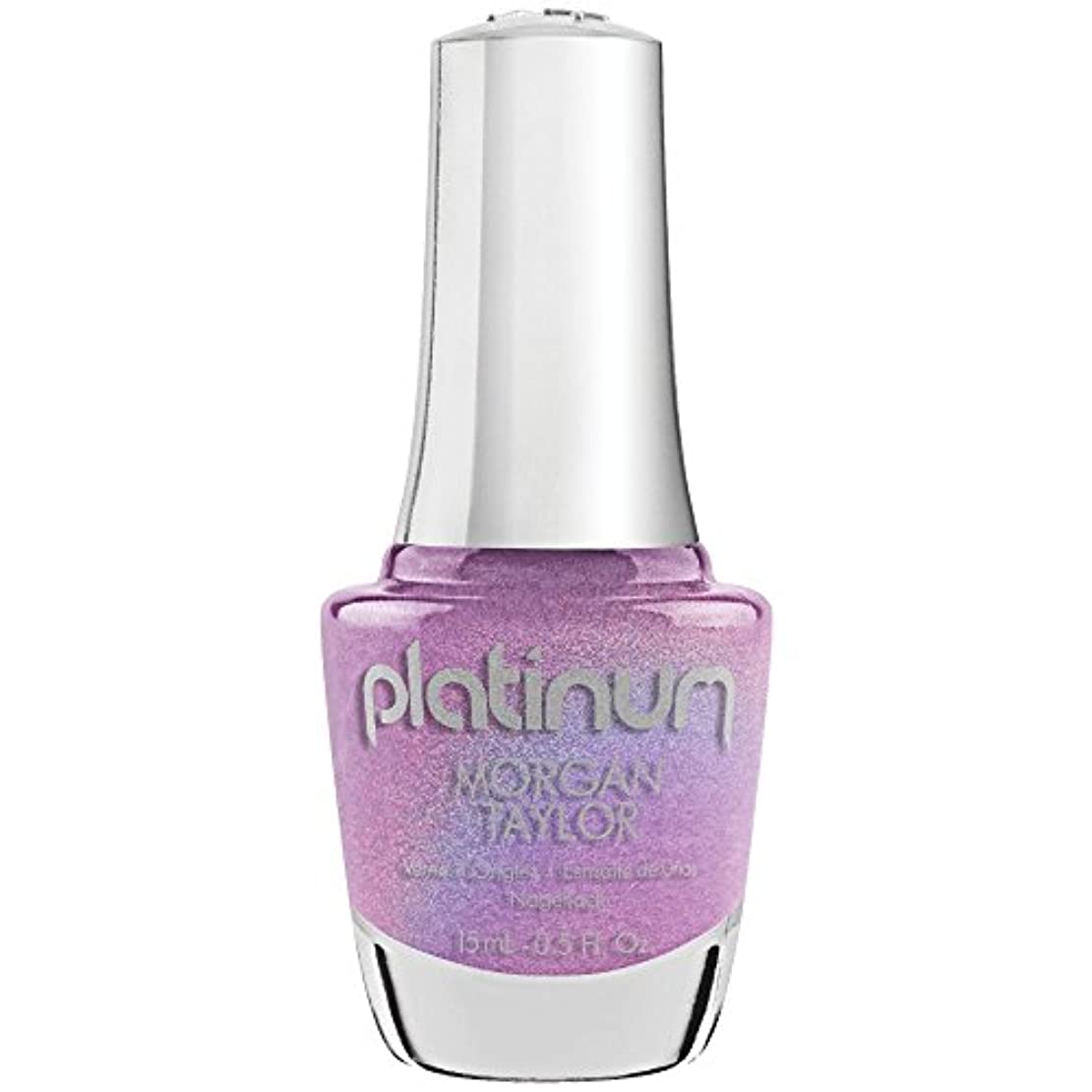 センチメンタル棚幻想的Morgan Taylor Lacquer - Platinum Collection - It's Lit! - 15 mL/0.5 Fl Oz