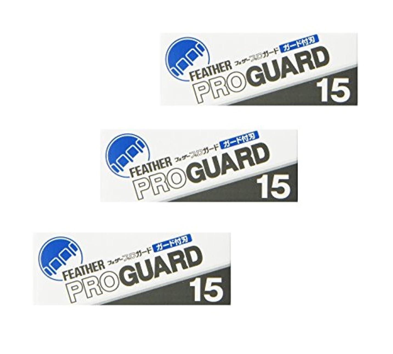 更新する船外に【3個セット】フェザープロガード 15枚入り PG-15