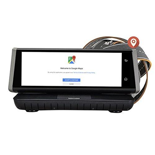 iFormosa 8インチ フルスクリーン Android 4G SIMフリー WiFi ダッシュボ...