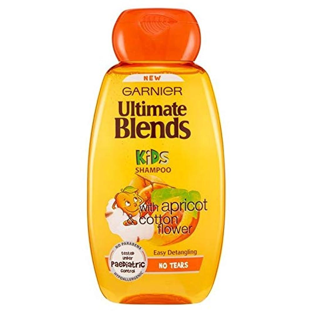 傘後染色[Garnier ] ガルニエ究極のブレンド子供用アプリコット&コットンフラワーシャンプー250Ml - Garnier Ultimate Blends Kids Apricot & Cotton Flower Shampoo...