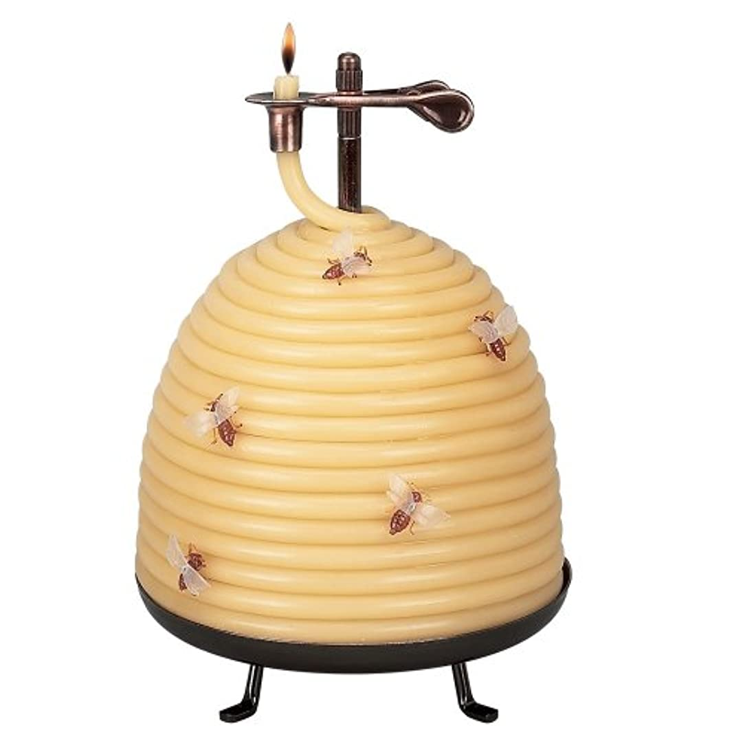 ちらつき敬意ランプCandle By The Hour 20642B 120 Hour Beehive Coil Candle