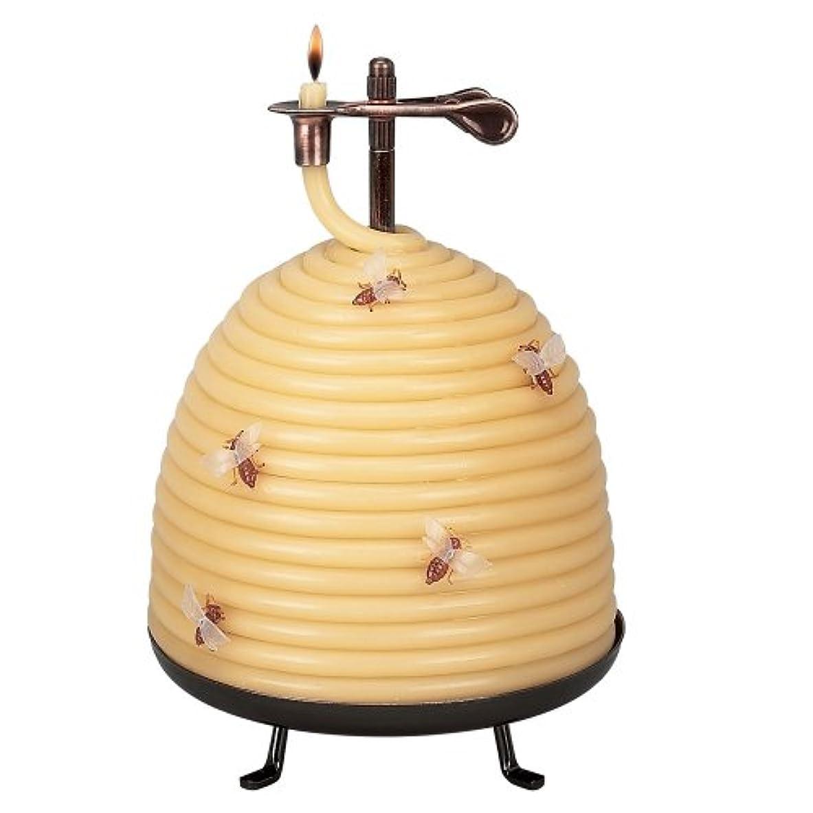 クレアもっと大理石Candle By The Hour 20642B 120 Hour Beehive Coil Candle