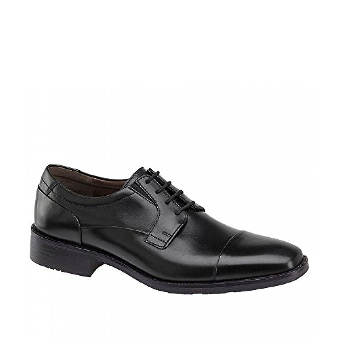 ハウジング五月待つ(ジョンストン&マーフィー) Johnston & Murphy メンズ シューズ?靴 革靴?ビジネスシューズ Lancaster Cap Toe Oxfords [並行輸入品]
