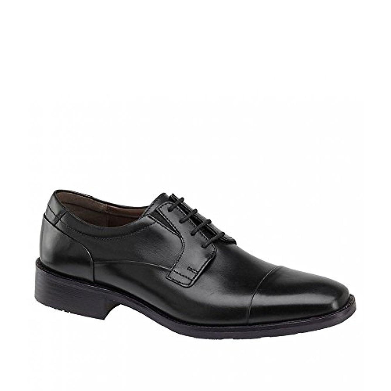 予約責めるスケルトン(ジョンストン&マーフィー) Johnston & Murphy メンズ シューズ?靴 革靴?ビジネスシューズ Lancaster Cap Toe Oxfords [並行輸入品]