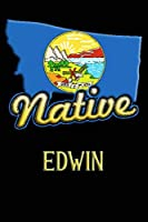 Montana Native Edwin: College Ruled   Composition Book