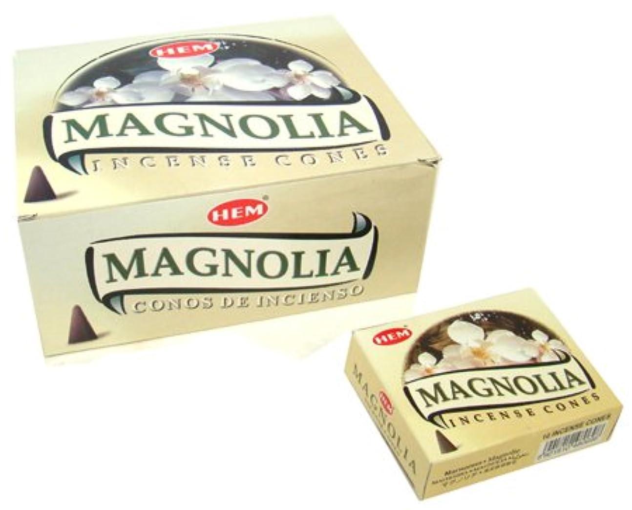 担当者市の中心部イーウェルHEM(ヘム) マグノリア香 コーンタイプ MAGNOLIA CORN 12箱セット