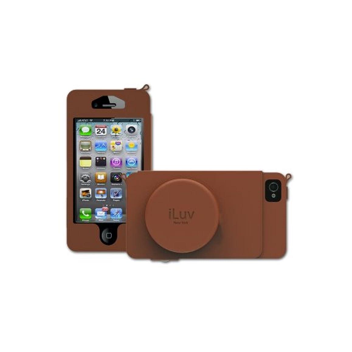 救出十分上に【日本正規代理店品】iLuv iPhone 5用 Camera Case タン ICA7J344TANJP