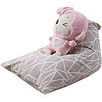 Bestpriceam Kids Stuffed Animal Plush ToyストレージBeanバッグソフトポーチストライプファブリック椅子G