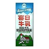 日本酪農共同 毎日牛乳 200ml×24本 常温保存可能品
