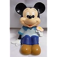 三菱銀行ノベルティソフビ貯金箱 ミッキーマウス